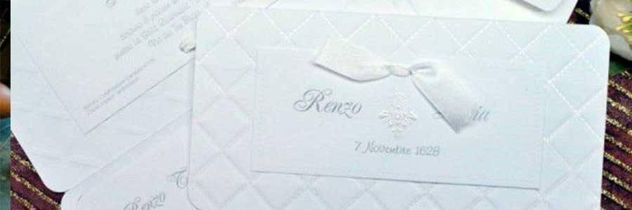 Stampa di partecipazioni di matrimonio ed inviti di nozze